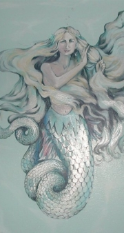 mermaid-mural-detail